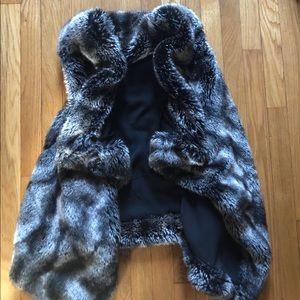 Ark & Co SM Faux Fur Vest
